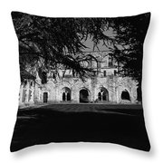 Haunted Abbey Throw Pillow