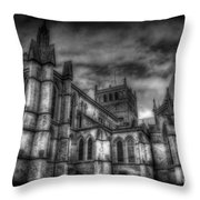 Haunted Britain 4 Throw Pillow
