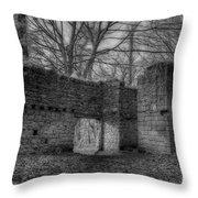 Haunted Britain 5 Throw Pillow