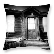 Haunted Throw Pillow
