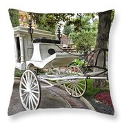Haunted Mansion Hearse New Orleans Disneyland Throw Pillow