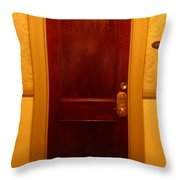 Haunted Room 217 Throw Pillow