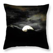 Haunting Horizon Throw Pillow by Al Powell Photography USA