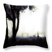 Haunting On All Hallow's Eve Throw Pillow