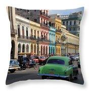 Havana 22 Throw Pillow