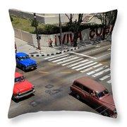 Havana 28 Throw Pillow