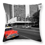 Havana 49 Throw Pillow