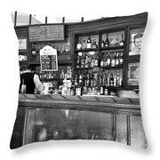 Havana Bar Cuba Throw Pillow