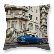 Havana Beauty Throw Pillow