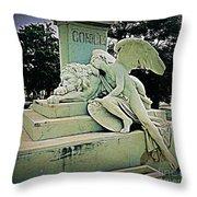 Havana Cemetary Throw Pillow