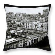 Havana City Throw Pillow