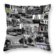 Havana Montage 3 Throw Pillow