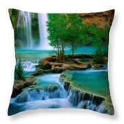 Havasu Canyon Throw Pillow
