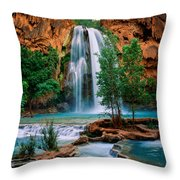 Havasu Cascades Throw Pillow