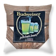 Have A Bud Throw Pillow
