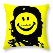 Have A Nice Che Guevara Throw Pillow