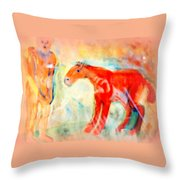 You Could Always Have A Ride After All It Is Your Birthday  Throw Pillow