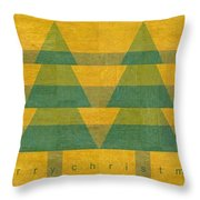 Have A Rustic Christmas Throw Pillow