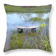 Have A Seat Throw Pillow