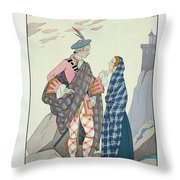 Have No Fear Little One Throw Pillow