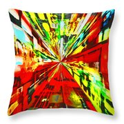 Have You Advertised In Hyperspace? Throw Pillow