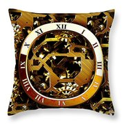 Have You Got The Time Throw Pillow