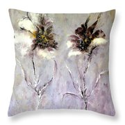 Have You Heard.....? Throw Pillow by Madeleine Holzberg