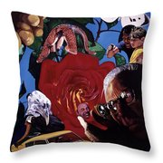 Have You Seen The Eyes Of The Octopus Throw Pillow