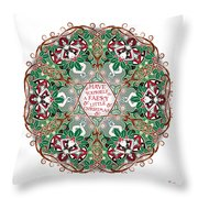 Have Yourself A Faery Little Christmas Throw Pillow