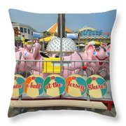 Havin A Ball Throw Pillow