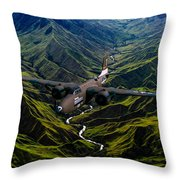 Havoc In The Pacific Throw Pillow