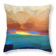 Hawaiian Glory Throw Pillow