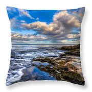 Hawaiian Morning Throw Pillow