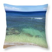 Hawaiian Ocean Throw Pillow