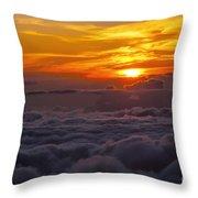 Evening Colors Throw Pillow