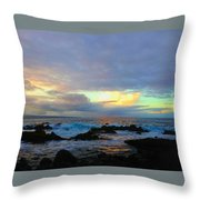 Hawaiian Landscape 14 Throw Pillow