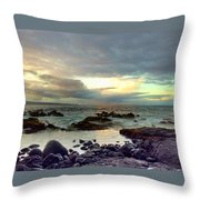 Hawaiian Landscape 13 Throw Pillow
