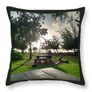 Hawaiian Landscape 9 Throw Pillow