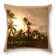 Hawaiian Landscape 7 Throw Pillow
