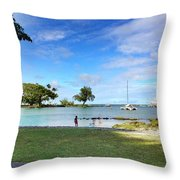 Hawaiian Landscape 6 Throw Pillow