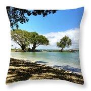 Hawaiian Landscape 1 Throw Pillow