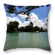Hawaiian Landscape 2 Throw Pillow