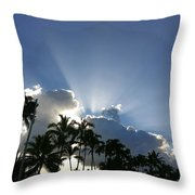 Hawaiian Landscape 16 Throw Pillow