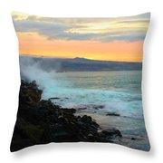 Hawaiian Landscape 15 Throw Pillow