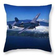 Hawiian Patrol Throw Pillow