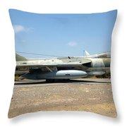 Hawker Hunter Fga 9. Fach 744 Throw Pillow