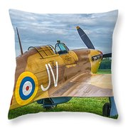 Hawker Hurricane 7d08c Throw Pillow
