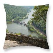 Hawks Nest Overlook 8 Throw Pillow