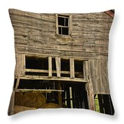 Hay For Sale Throw Pillow