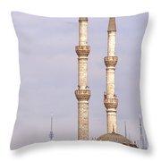 Haydarpasa Protokol Cami Mosque 01 Throw Pillow